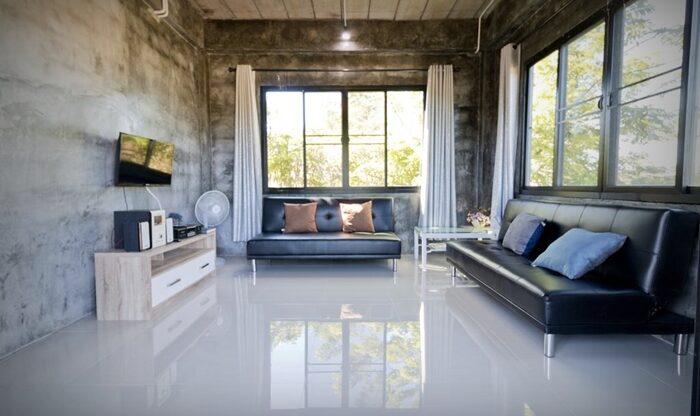 Modern loft style house