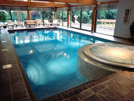 In house swimming pool